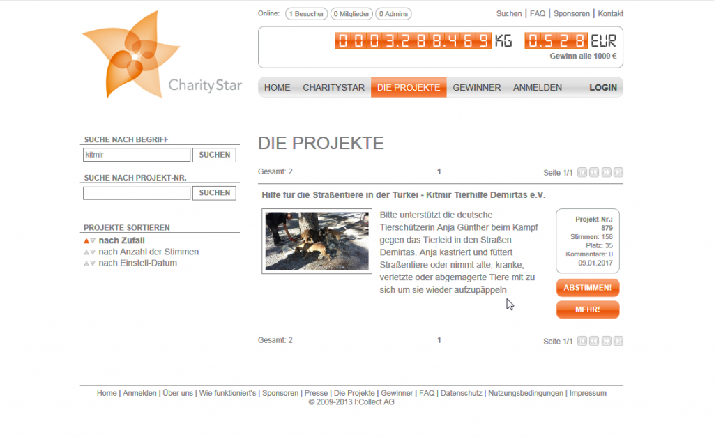 Mit eurer Hilfe können wir 1000 Euro gewinnen - Charitystar.de ...